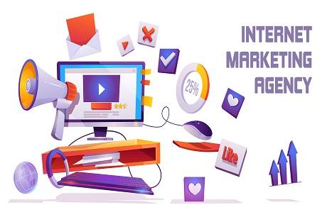 Internet marketing agency banner